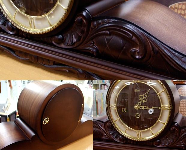 アンティーク調高級置時計