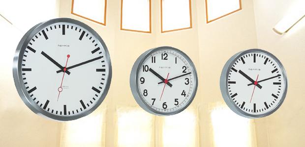 ステーションクロック掛時計