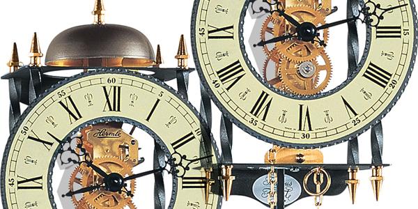 アンティーク調振子掛け時計