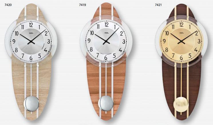 アムスのインテリア掛け時計
